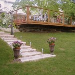 Lakepark Curved Deck Project
