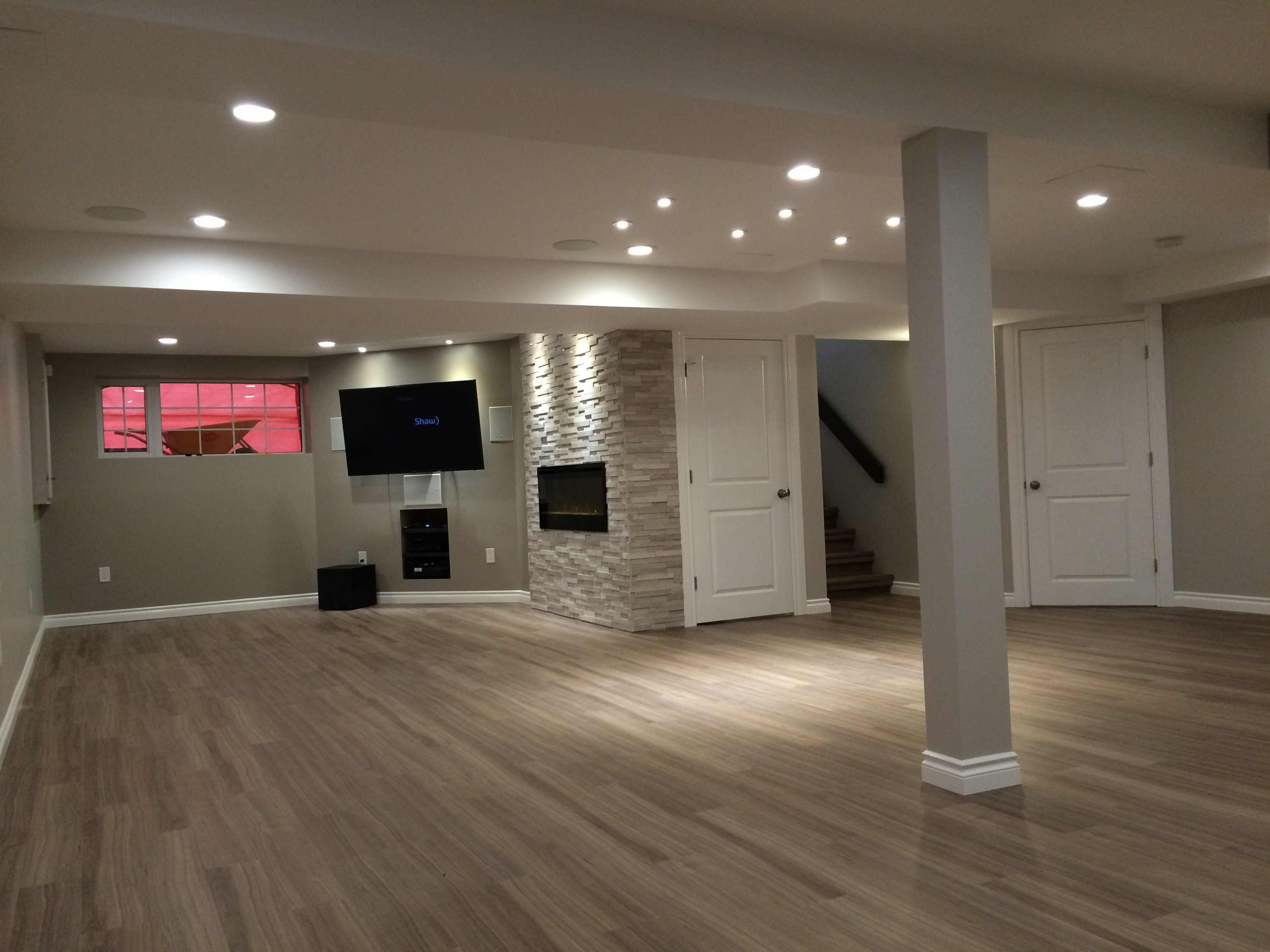 Delightful Winnipeg Basement Renovation